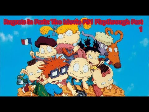 Rugrats in Paris: The Movie PS1 Playthrough Part 1