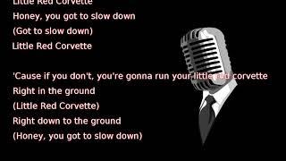 Prince - Little Red Corvette (lyrics)