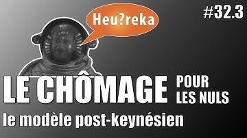 Le chômage pour les nuls : le modèle Post-keynésien - Heu?reka #32-3