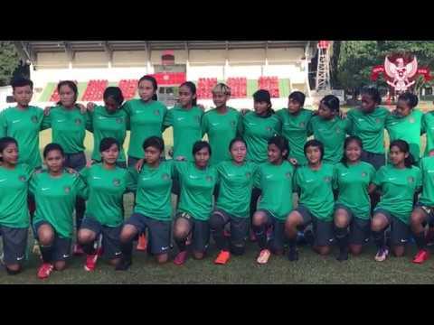 Tim Nasional Indonesia U-16 Putri Bersiap Hadapi AFF U-16 Girls Championship 2018 di Palembang