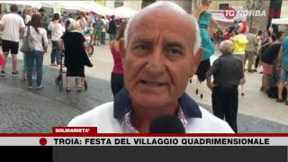 TgNorba Festa del Villaggio Quadrimensionale 1 Lug 2017