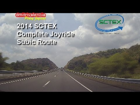 Pinoy Joyride - Subic Clark Tarlac Expwy (SCTEX-Subic route) Complete Joyride 2014