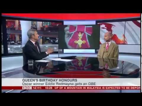 BBC NEWS - Queen's Birthday Honours Interview MBE, OBE, CBE, knighthood - Awards Intelligence