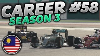 F1 2016 Career Mode Part 58: FIGHTING AT THE FRONT