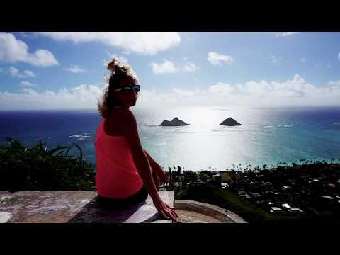 Lanikai pillbox, beach, and manoa falls hike Oahu, HI.