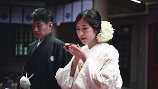 原宿 東郷神社の庭参進と本殿挙式