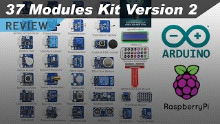 37 Sensors and Modules Kit (Version 2) for Raspberry Pi and Arduino