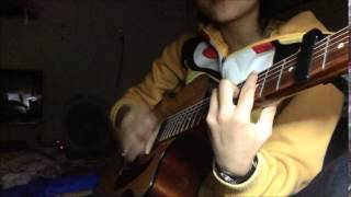 Cho tôi trở về tuổi thơ - Hoàng Bách guitar
