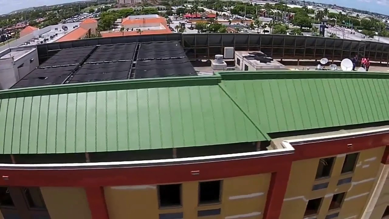 South Miami Liquid Applied Roofing over Mansard