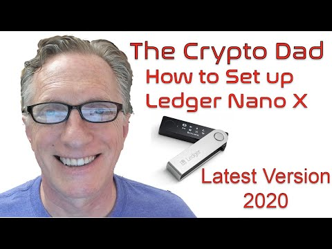 how-to-set-up-a-ledger-nano-x-latest-version-2020