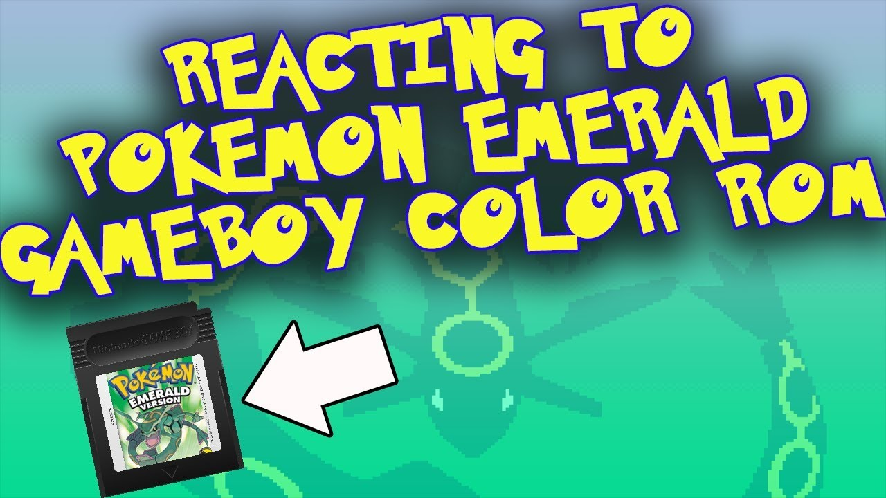 Pokemon gameboy color roms - Reacting To Pokemon Emerald On Gameboy Color Gold Rom Hack
