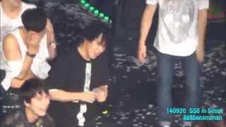 [fancam] 140920 Super Junior SS6 in Seoul  『Let`s Dance』 Focus Sungmin