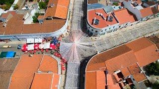 Campo Maior Festas do Povo 2015 vista aérea - 4K Ultra HD