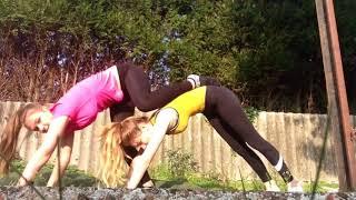 Yoga Challenge, Yoga Challenge Fail, Yoga Challenge Girls