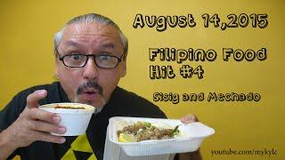 Filipino Food Hit #4!!  Sisig and Beef Mechado!!!