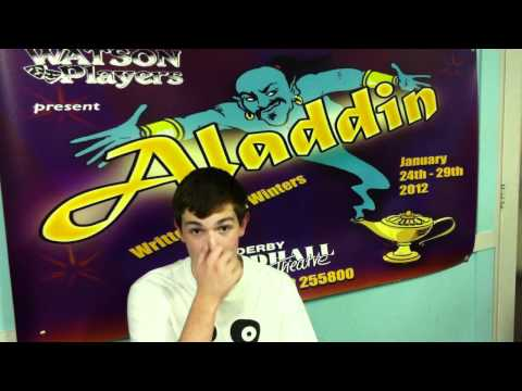 An interview with The Genie Aladdin 2012