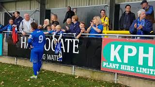 FA Cup vs Harrogate Town: Scenes