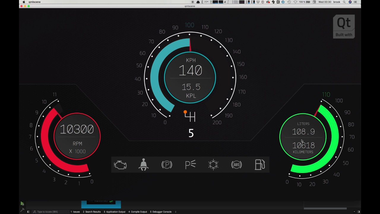 learn to use qt design studio by building an instrument cluster for your car hmi  part 4