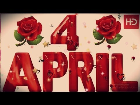 4 April Special New Birthday Status Video , Happy Birthday Wishes, Birthday Msg Quotes जन्मदिन