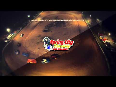 Spring City Raceway - Heat Race sky cam Intro