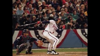 David Justice Postseason Home Runs