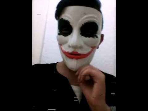 Vlog Yeni Jokerr Maskesi özel El Yapımı Youtube