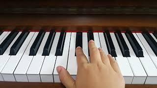 剛好遇見你 鋼琴 右手簡單版