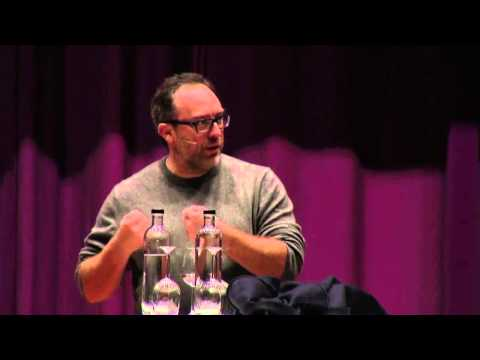 """Lecture Jimmy Wales: Understanding failure as a route to success"""