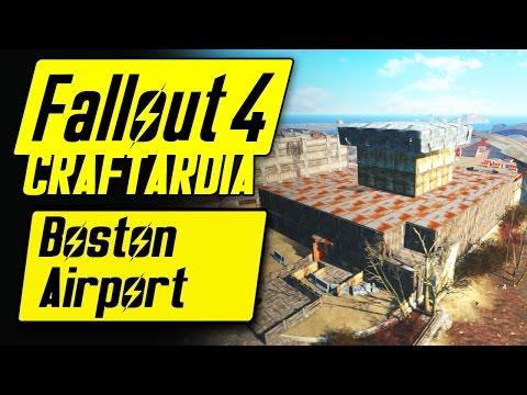 Fallout 4 Boston Airport - Base Building Timelapse - Fallout 4 Settlement Building [PC]