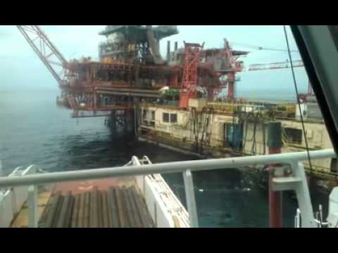 Cargo Operation in Congo Offshore