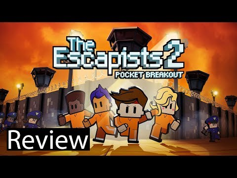 The Escapists 2 Pocket Breakout Gameplay Review Mobile