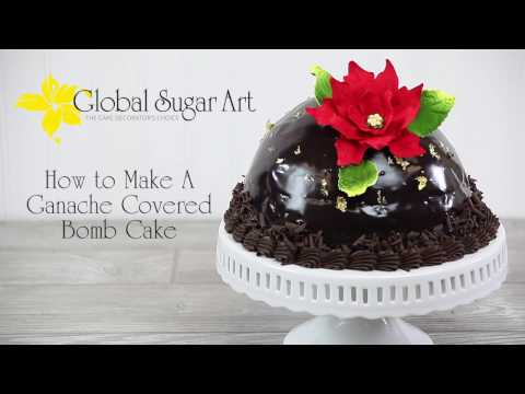 Recipe For Ganache Is Available On Our Website Along With More Great Cake Decorating Videos Add This Beautiful Chocolate Bombe To Your Holiday Or Special