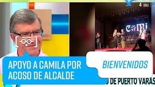 Apoyo a Camila Gallardo tras polémica con alcalde de Puerto Varas   Bienvenidos
