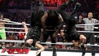 Mark Henry & The Usos vs. The Shield: Raw, July 29, 2013