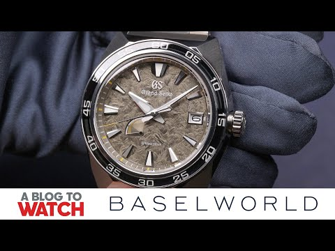 a8577a558 Grand Seiko Sport Spring Drive Ref. SBGA403 Watch Hands-On | New for  Baselworld 2019 | aBlogtoWatch - YouTube