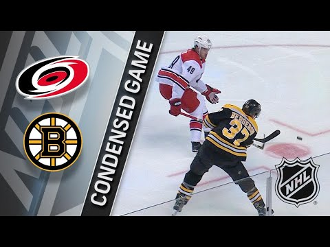 01/06/18 Condensed Game: Hurricanes @ Bruins