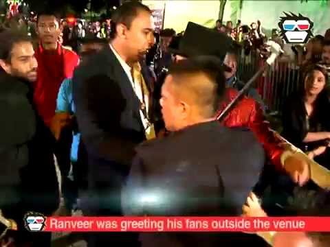 Shocking Video: Ranveer Singh was pushed away by Malaysian Police