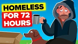 I Went Homeless For 72 Hours (REAL CHALLENGE)
