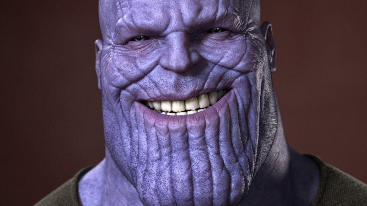 Asi Es Como Transformaron A Josh Brolin En Thanos Youtube