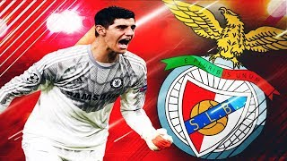 Baixar Transfer FREE Thibaut Courtois semneaza cu Benfica || FIFA 18 Romania Benfica #14