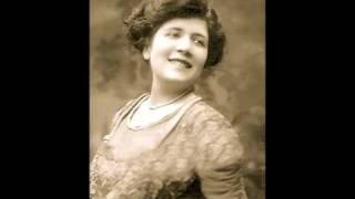 French Contralto Jeanne Gerville-Réache ~ Ich grolle nicht (1911)