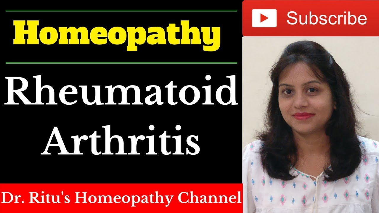 homeopathic Medicine for Rheumatoid Arthritis- Rheumatoid Arthritis  Treatment [Hindi Video]