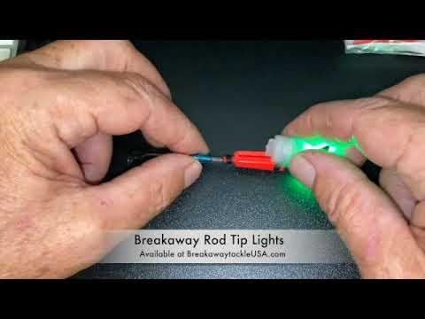 How To Breakaway Rod Tip Lights