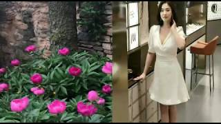Our bride Song Hye-kyo 😀 New update İG 😀 👍 Enjoy this lovely season with your beloved! 🌷🌸