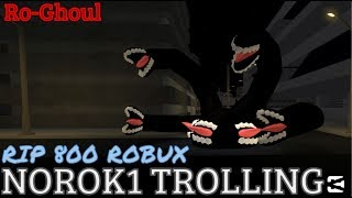 NORO K1 TROLLING!!!!! [Episode - 33] | Ro-Ghoul | Roblox