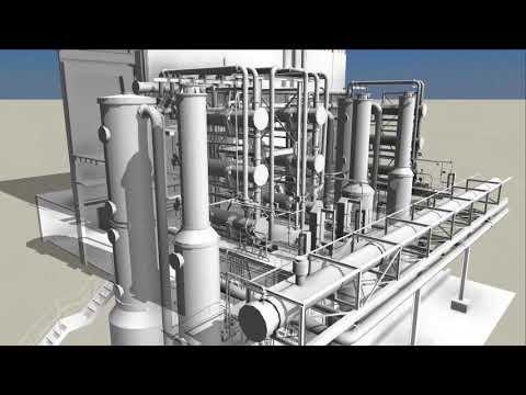 GEO-BOR Model 3D Obiektu Przemysłowego - Inwentaryzacja BIM