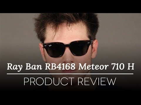 Ray Ban Rb4168 Meteor 710 H Sunglasses Review Youtube
