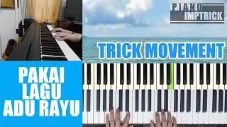 Belajar Improvisasi Piano  - Adu Rayu (Yovie Widianto, Glen Fredly, Tulus )  Pop cepat