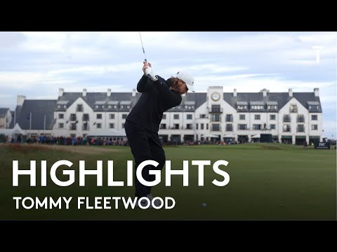 Tommy Fleetwood | Round 1 Highlights | 2021 Alfred Dunhill Links Championship