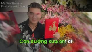 [Karaoke] Con Đường Xưa Em Đi - Đàm Vĩnh Hưng